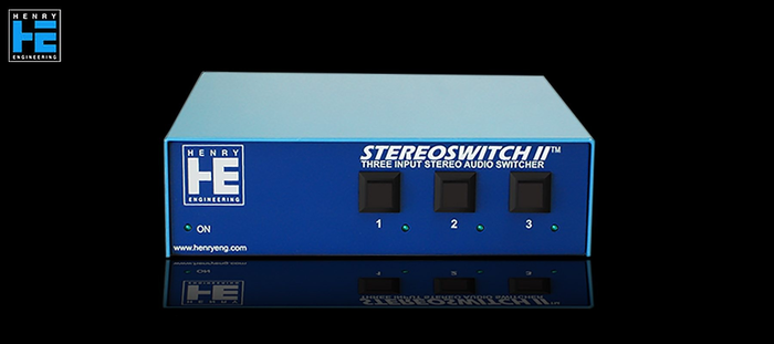 Henry Engineering  StereoSwitch II - Avant