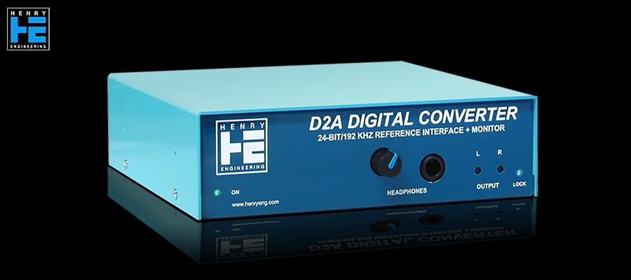 Henry Engineering D2A AES Digital Converter