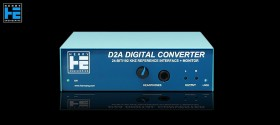 Henry Engineering D2A AES Digital Converter - Front