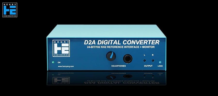 Henry Engineering D2A AES Digital Converter - Avant