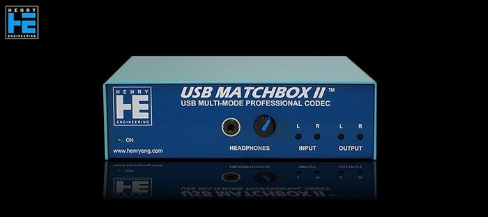 Henry Engineering USB Matchbox II - Avant