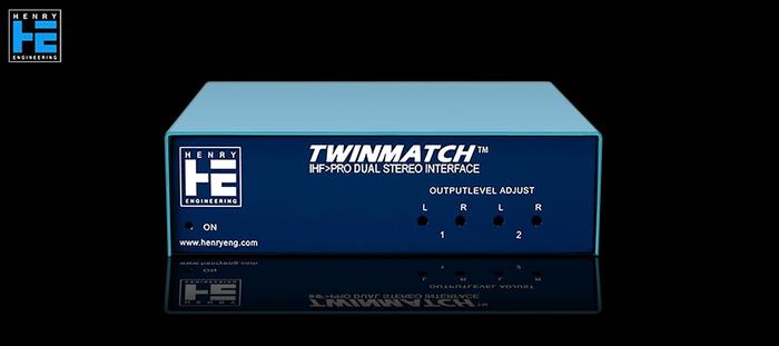 Henry Engineering TwinMatch - Avant