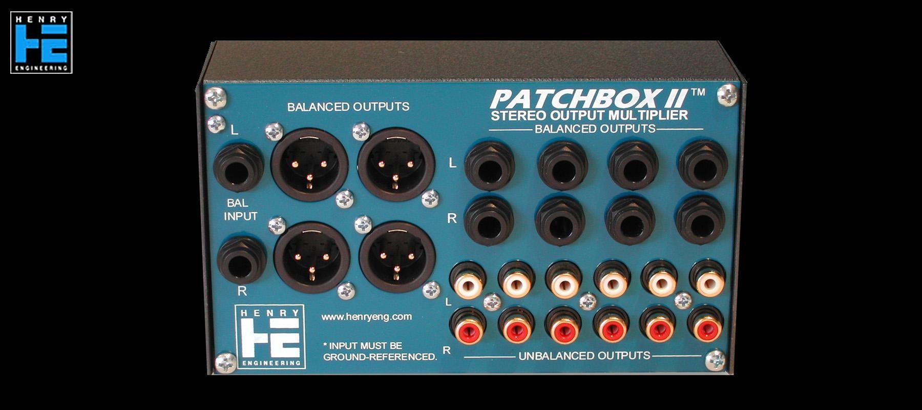 Henry Engineering Patchbox II