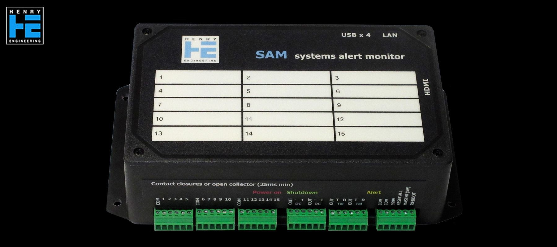 Henry Engineering Systems Alert Monitor