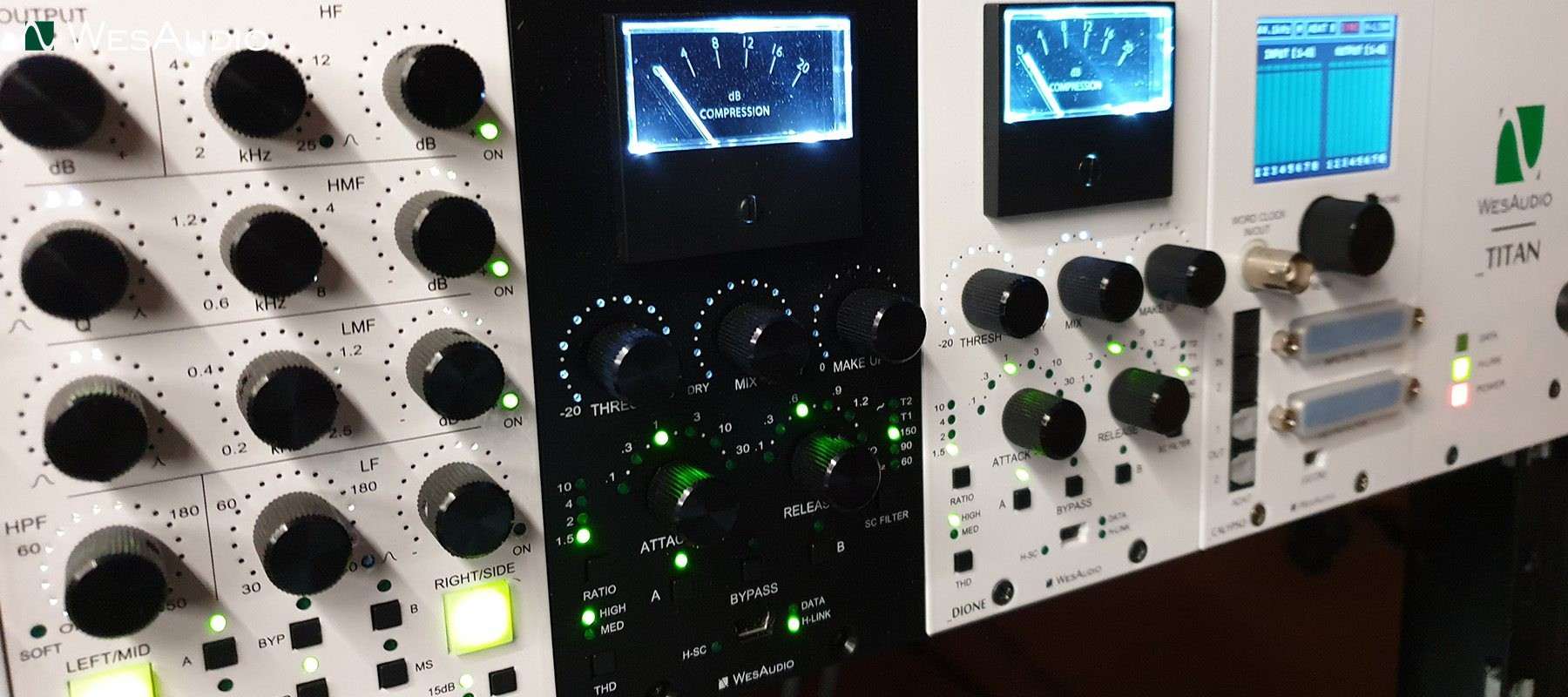 WesAudio _Dione 500 Stereo Compressor Musical Instruments ...