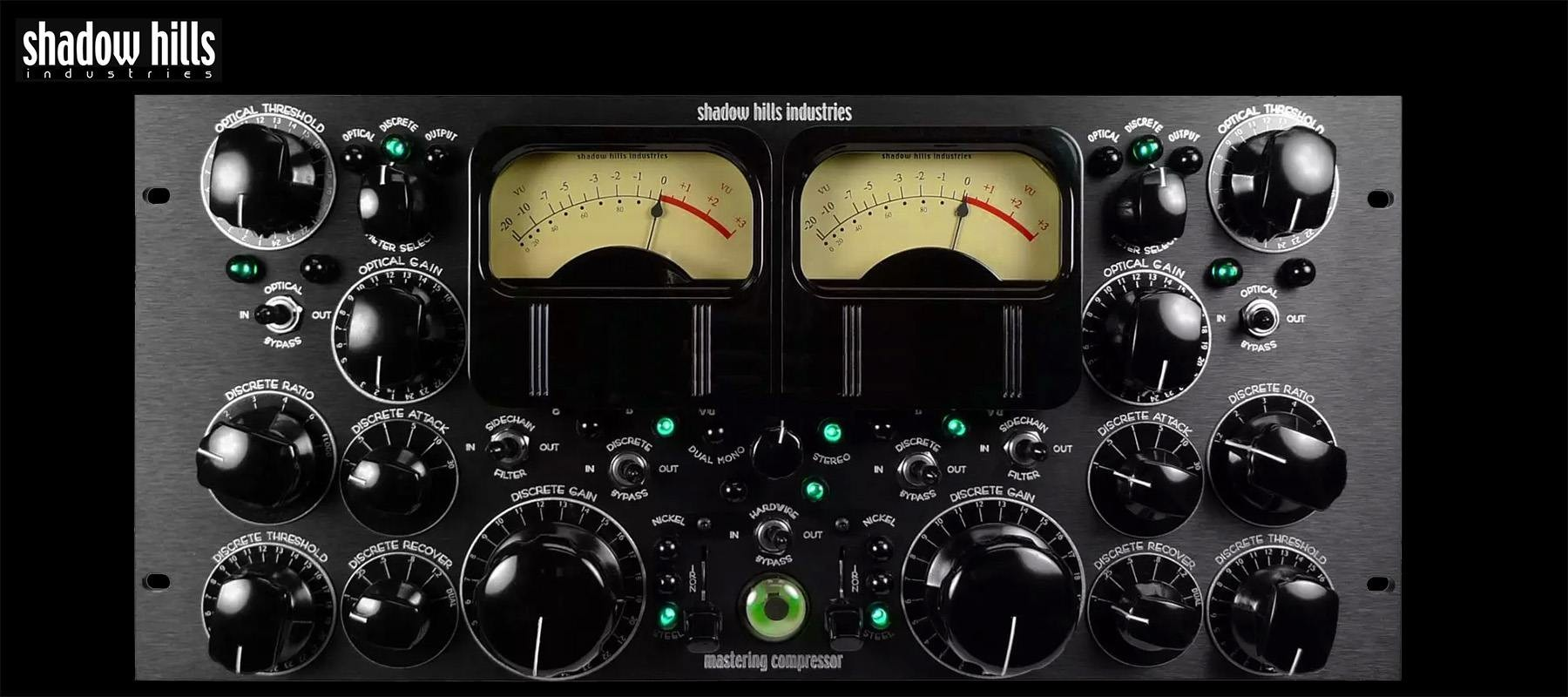 Shadow Hills industries Mastering Compressor