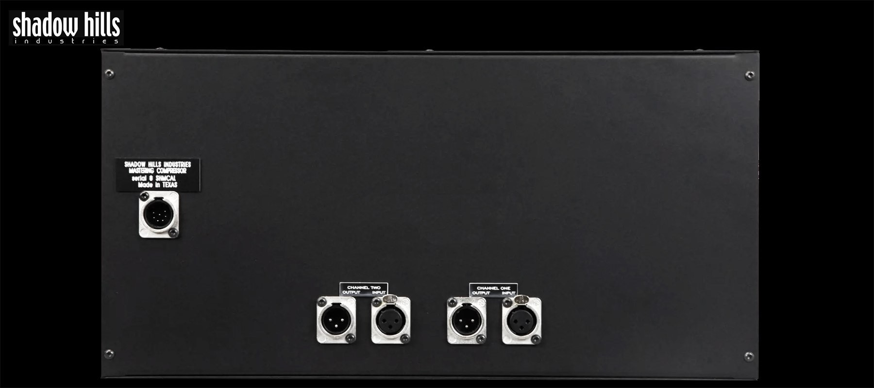 Shadow Hills industries Mastering Compressor - Back