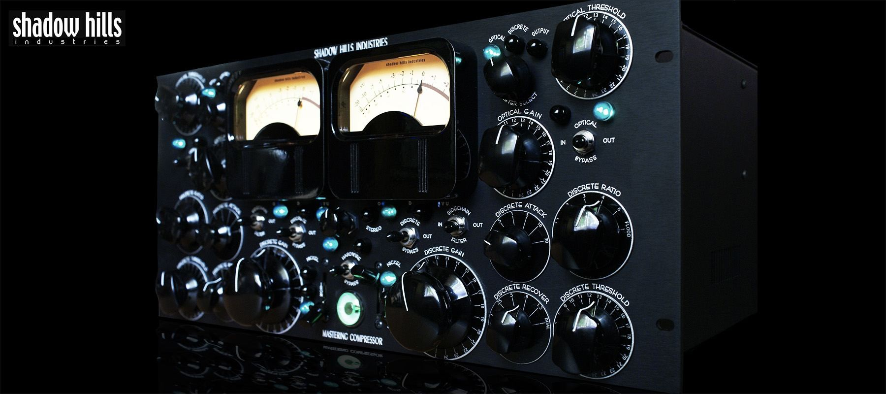 Shadow Hills industries Mastering Compressor - Side