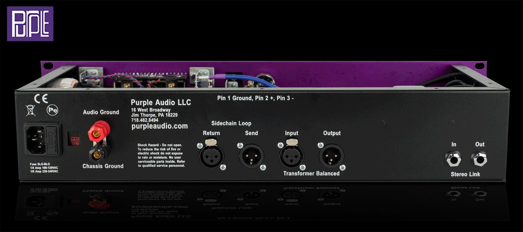 Purple Audio MC77 - Arriere