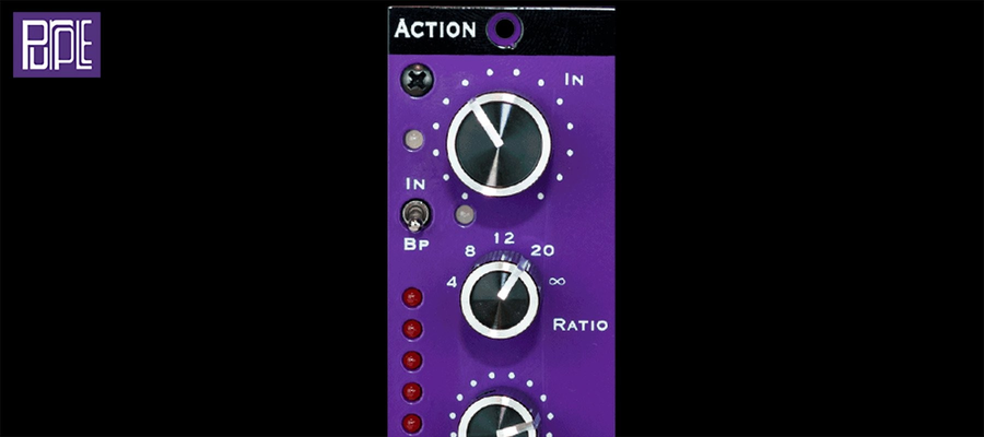 Purple Audio Action - Top