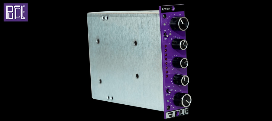 Purple Audio Action - Isulating plate