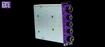 Purple Audio Action - Plaque d'isolation