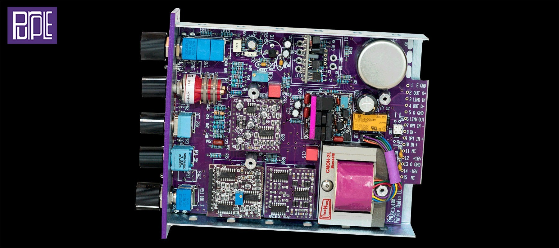 Purple Audio Action - Components