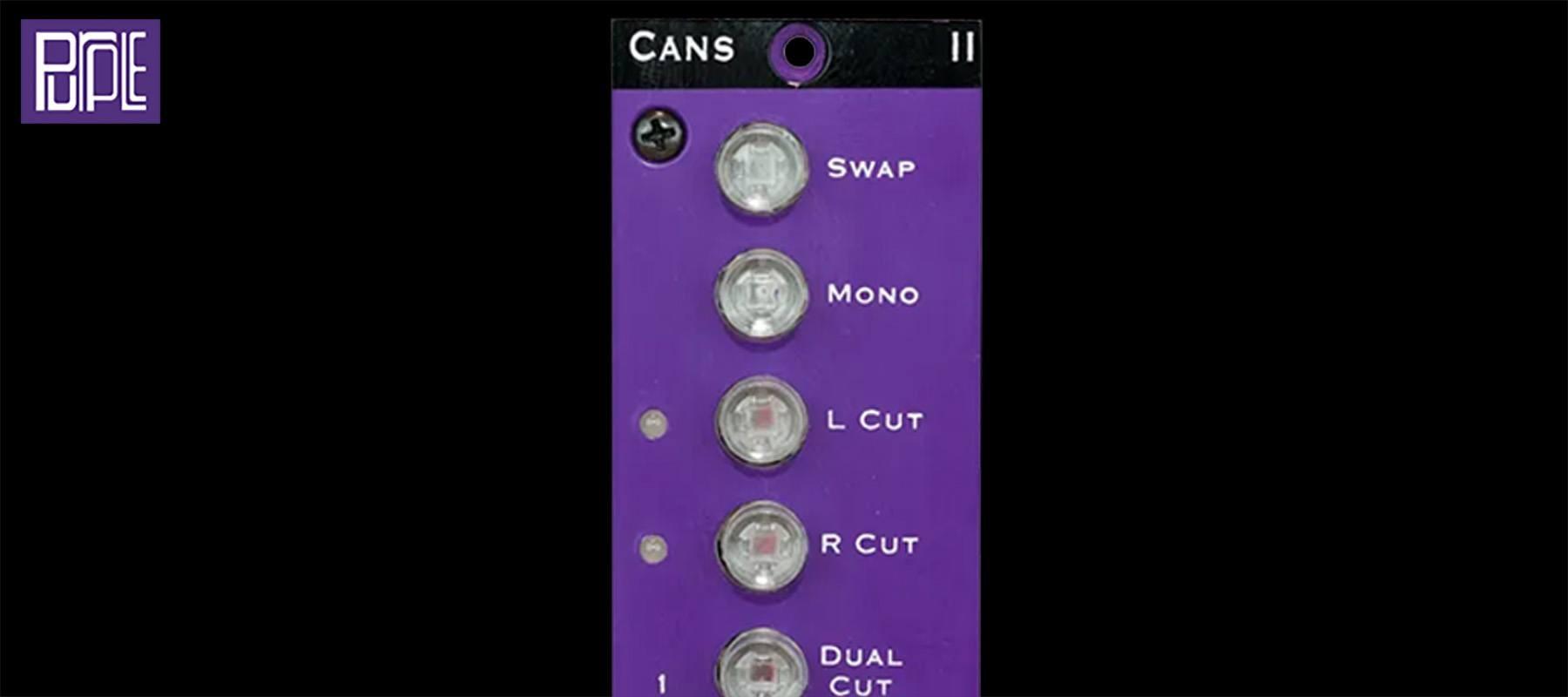 Purple Audio CANS II - Haut
