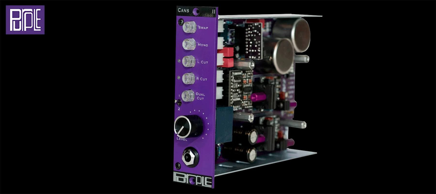 Purple Audio CANS II - Coté