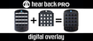 Hear Technologies PRO Digital Overlay Four Pack