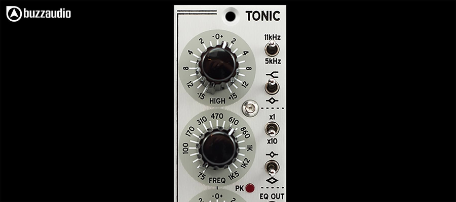 Buzz Audio TONIC - Top