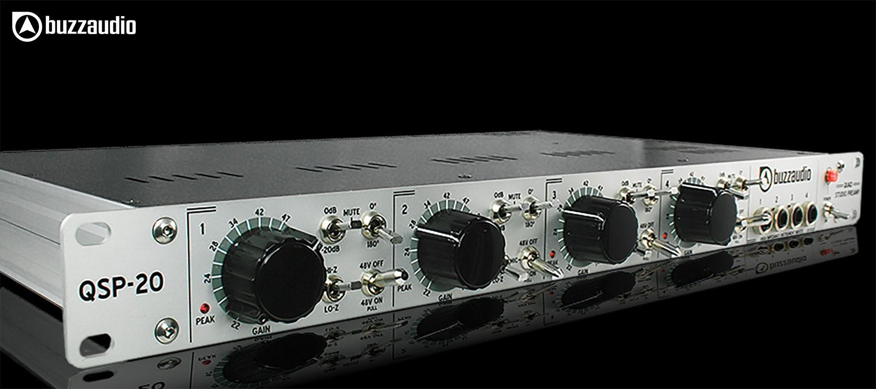 Buzz Audio QSP-20 - Gauche