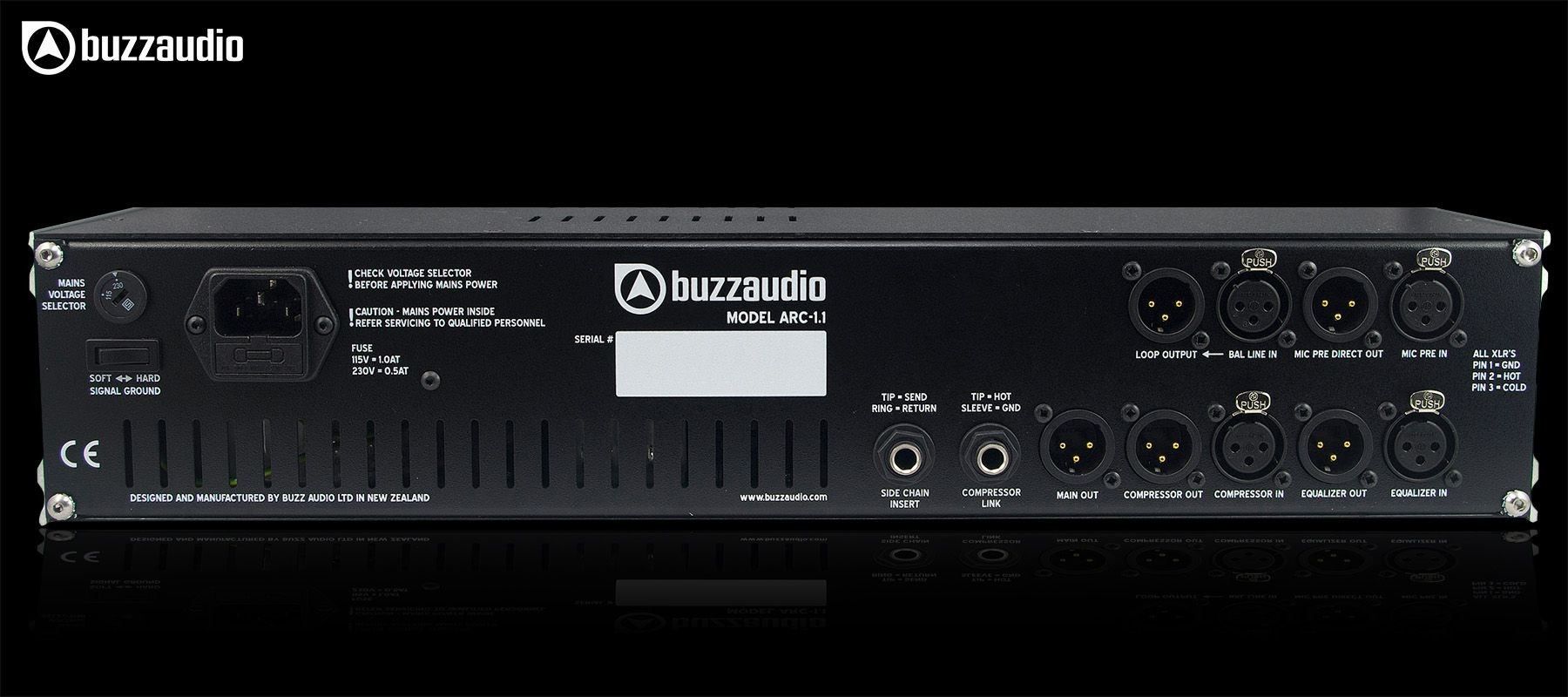 Buzz Audio ARC-1.1 - Back