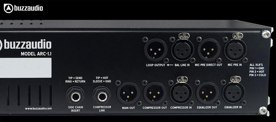 Buzz Audio ARC-1.1 - Outputs