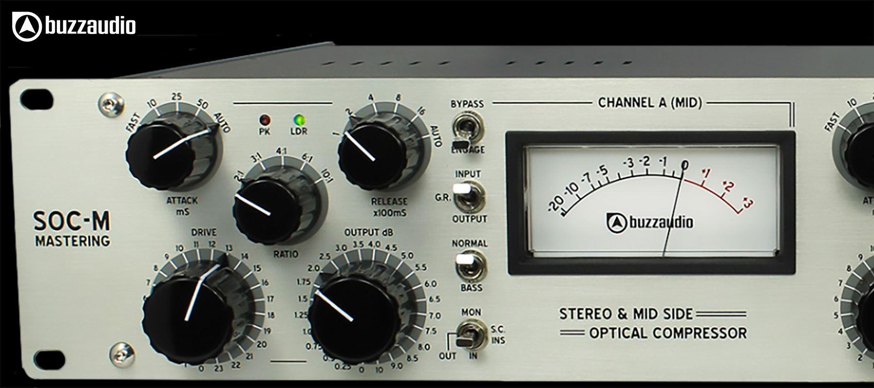 Buzz Audio SOC-M - Left commands
