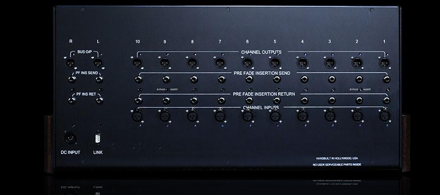 Panneau d'Inserts pour Aurora Audio Sidecar