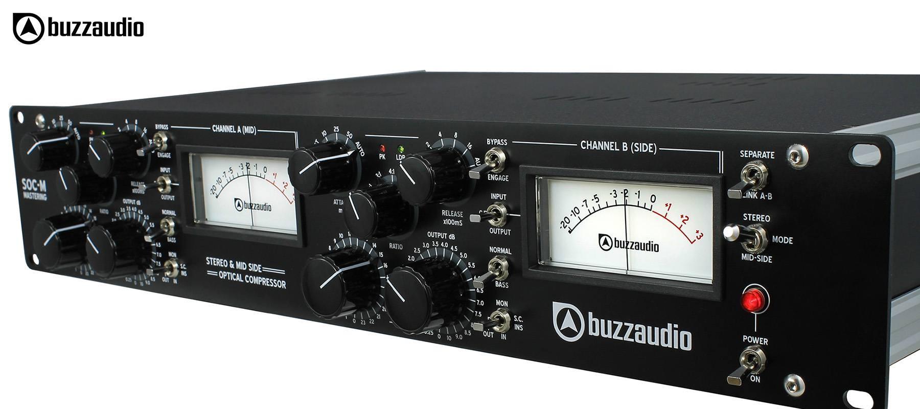 Buzz Audio SOC-M - Black face right