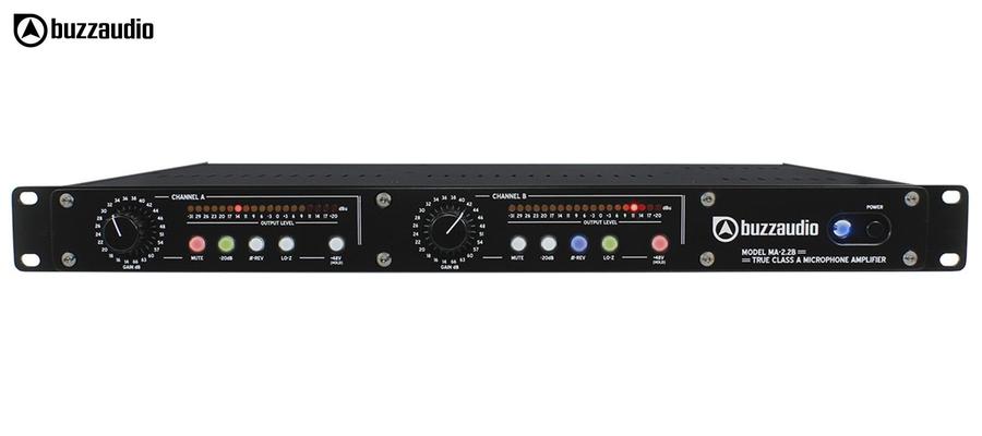BUZZ Audio MA-2.2B - Face noire