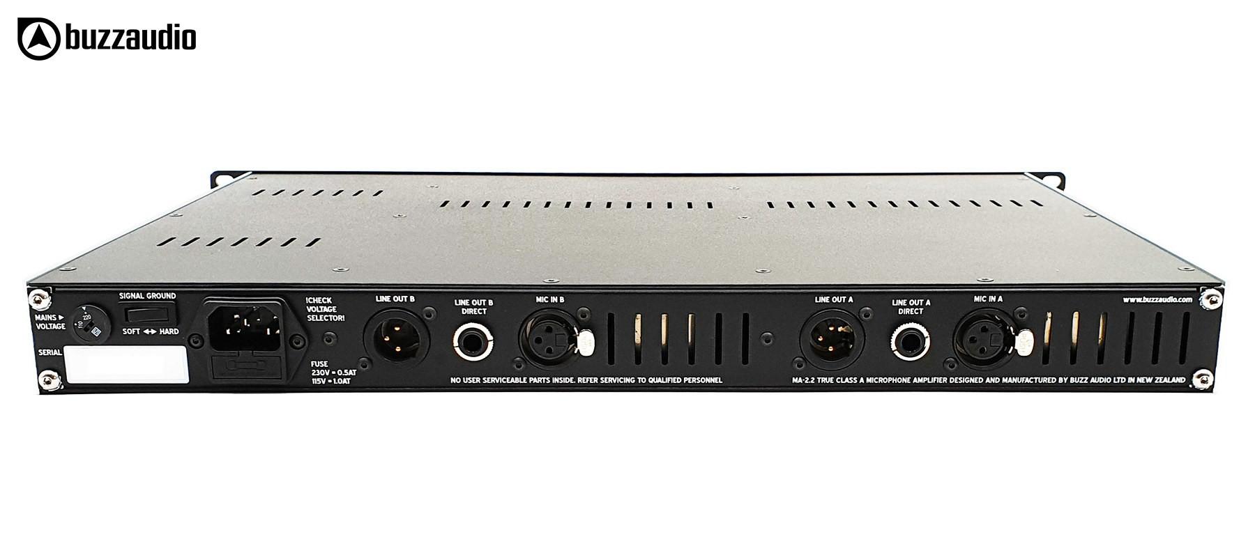 BUZZ Audio MA-2.2B - Arrière