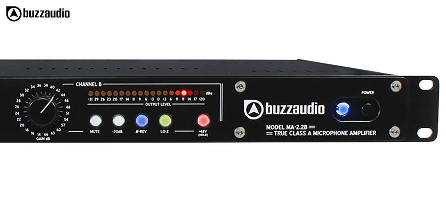 BUZZ Audio MA-2.2B - Noir commandes