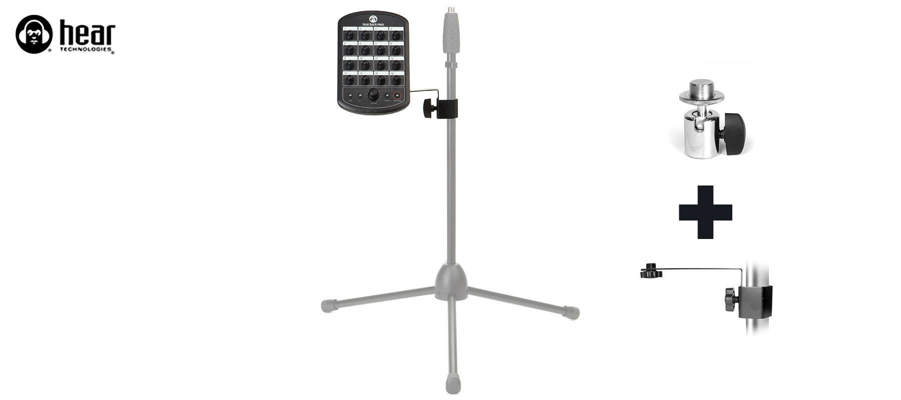 Mic Stand + Tilt Adapter