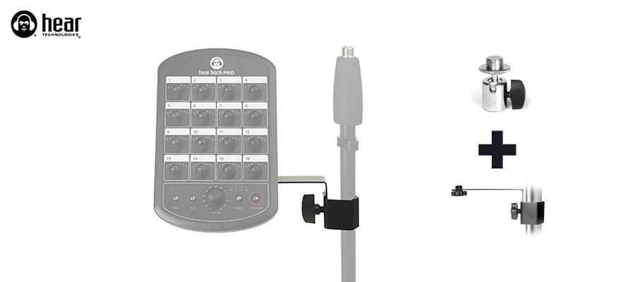 Mic Stand + Tilt Adapter 2