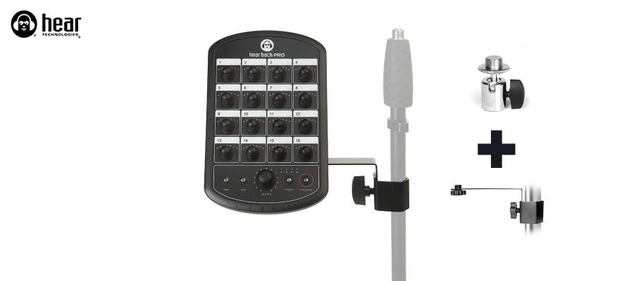 Mic Stand + Tilt Adapter 3