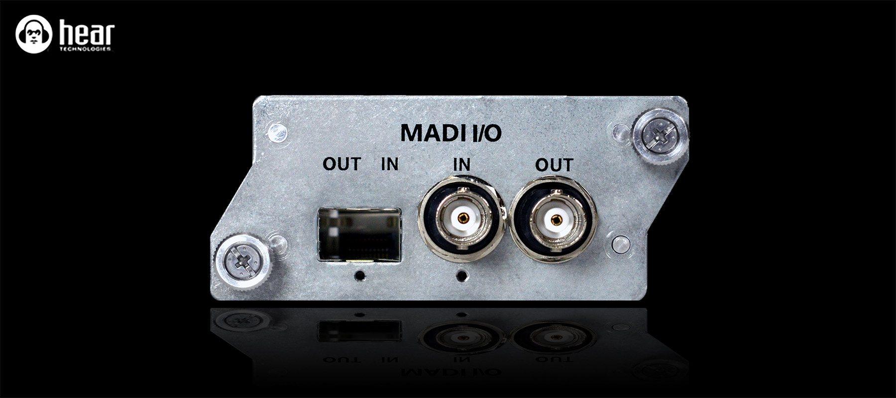 Hear Back Pro MADI card