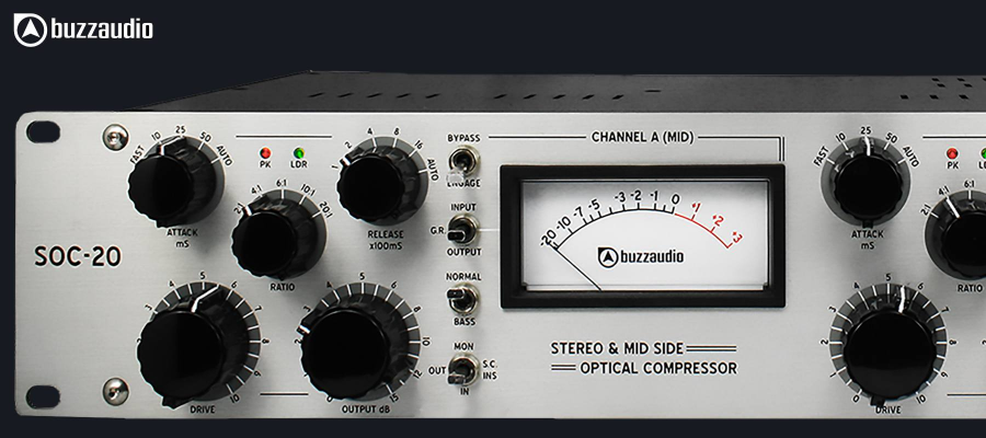 Buzz Audio SOC 20 Silver - Gauche