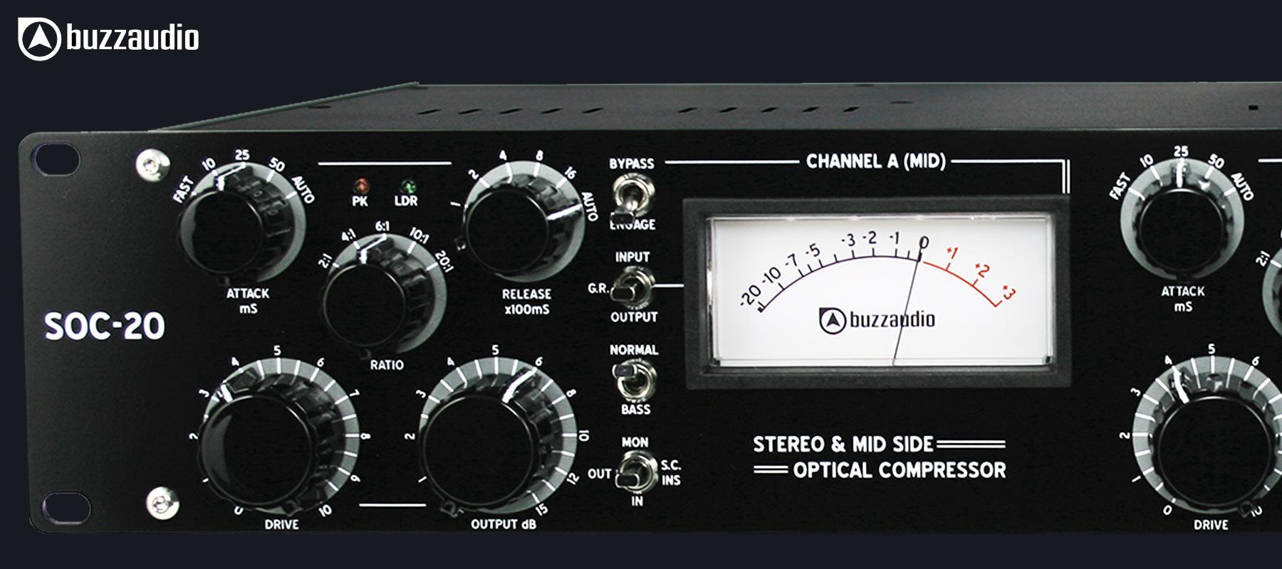 Buzz Audio SOC 20 Black - Gauche