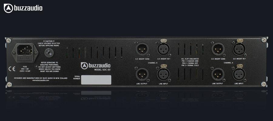 Buzz Audio SOC 20 - Arrière