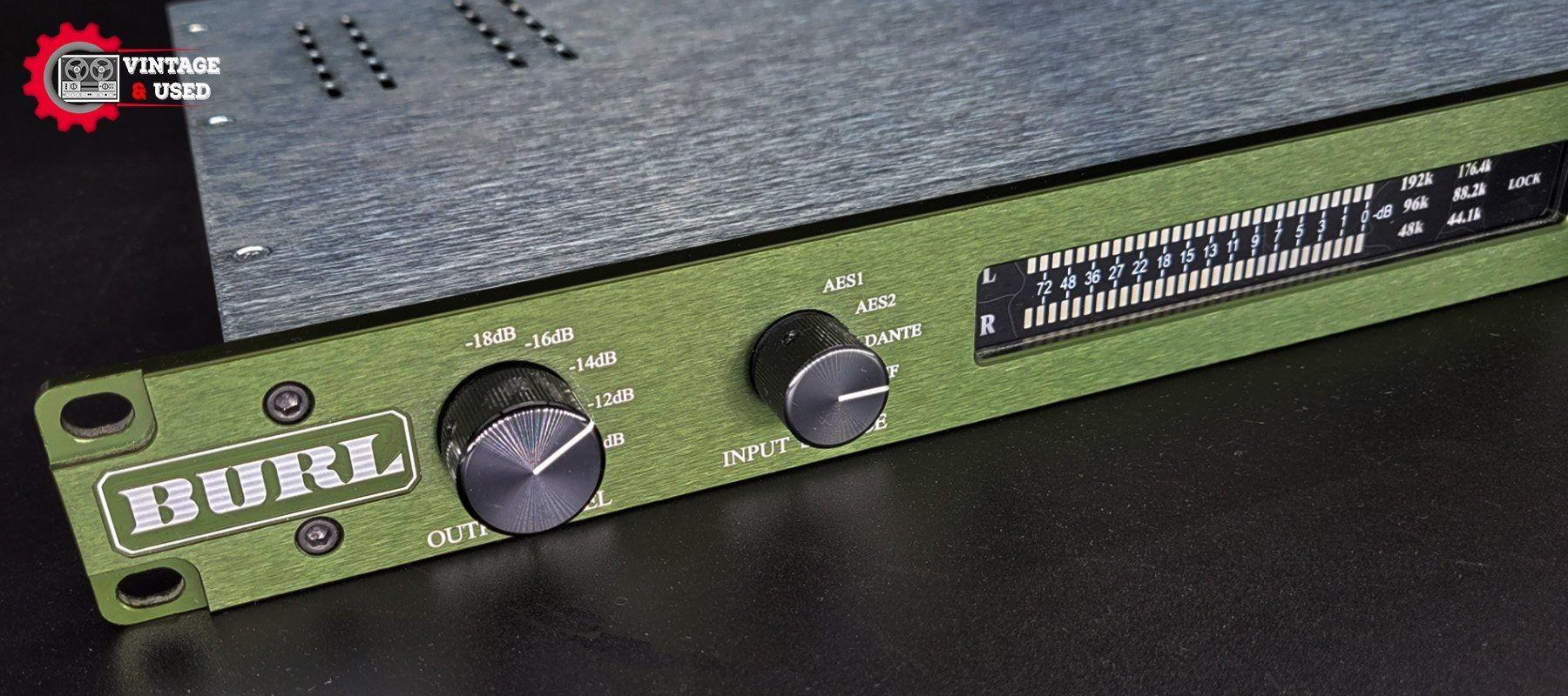 Burl Audio B2 Bomber DAC - LHS
