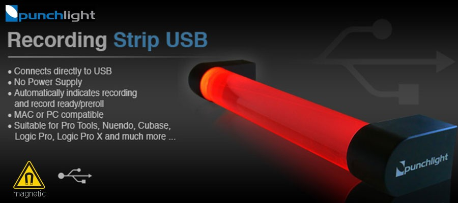 Punchlight Recording Strip USB - 1