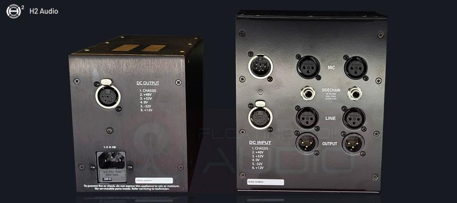 H2 Audio 002 Rack - Back