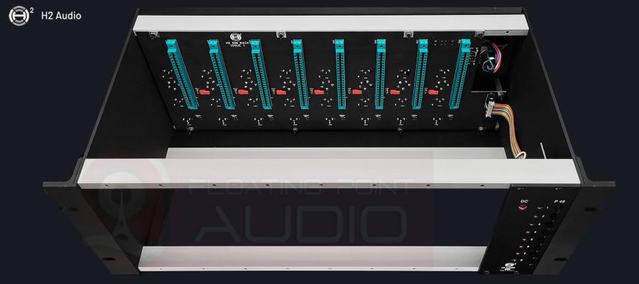H2 Audio 008 Rack - Top view
