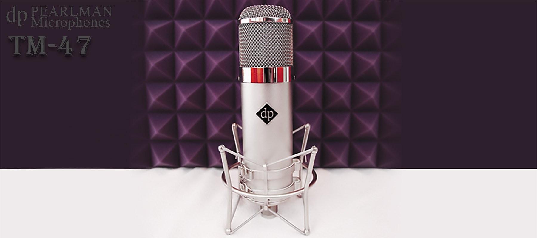 Pearlman TM-47 - In studio
