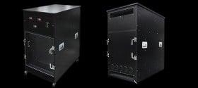 Caisson insonorisé Silent Server Rack HP 8 à 24 U
