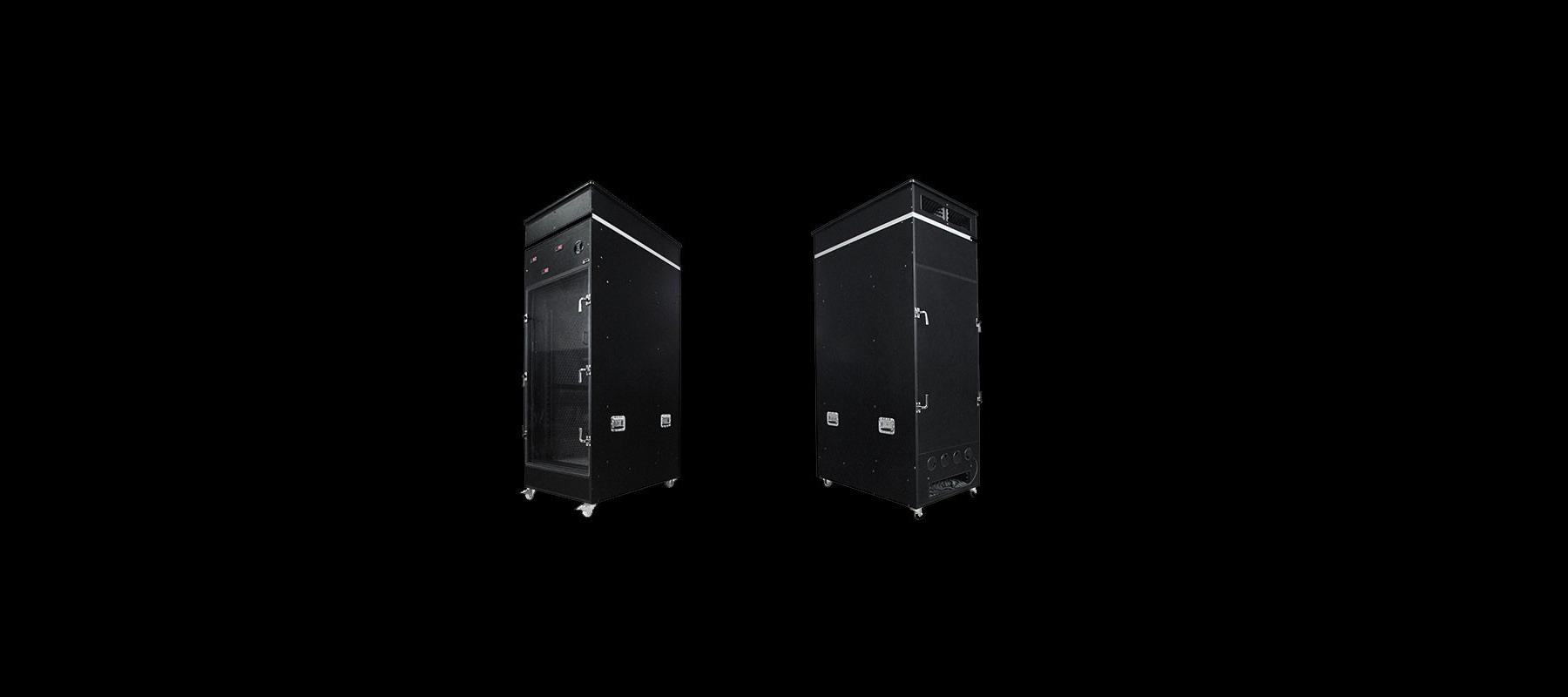 Caisson insonorisé Silent Server Rack 8 à 24U