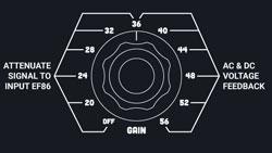 wt-72 gain knob